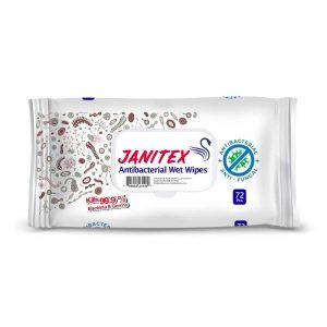 Janitex Antibacterial Disinfecting Wet Wipes
