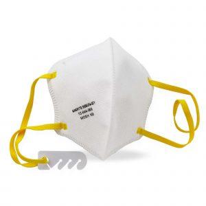 NIOSH Approved N95 Soft Fold Face Mask:
